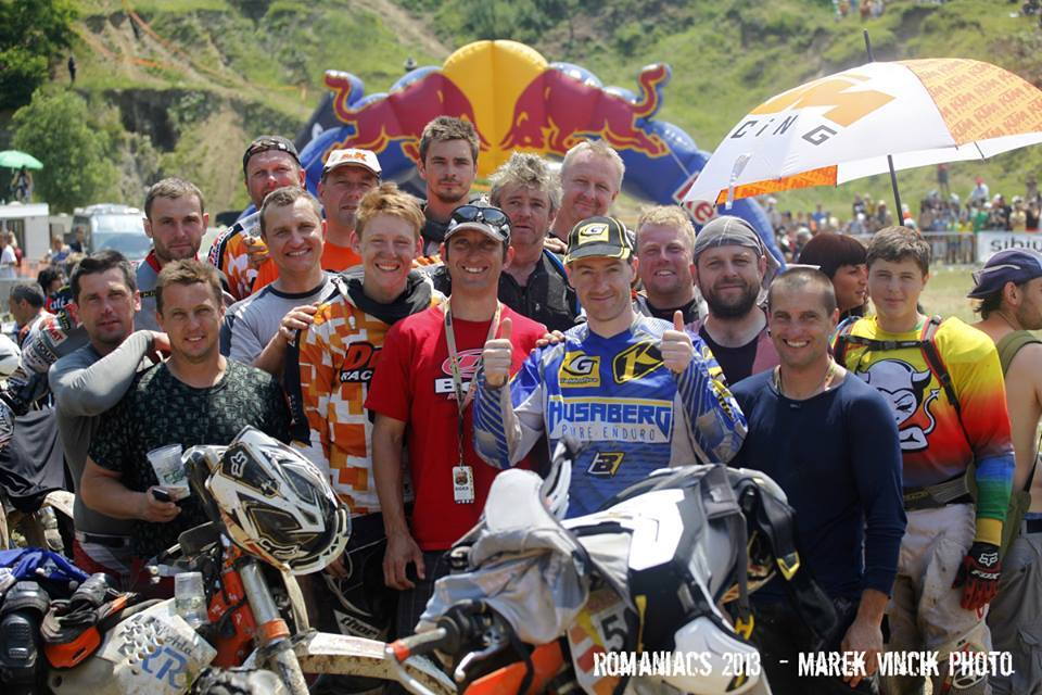 Red Bull Romaniacs 2013 & Dr. K racing team